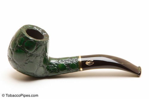 Savinelli Alligator Green 677V Tobacco Pipe Left Side