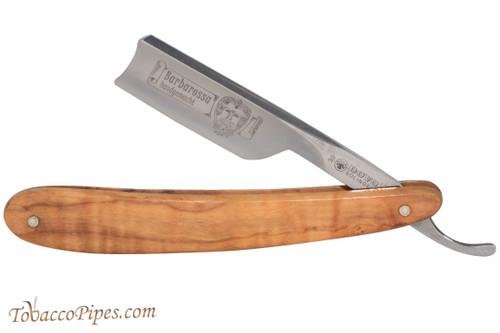 Dovo 305870 Barbarossa Olive Wood Straight Razor