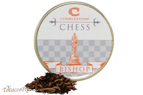 Cobblestone Chess Bishop Pipe Tobacco