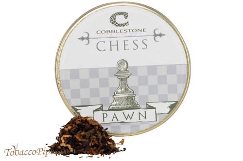 Cobblestone Chess Pawn Pipe Tobacco