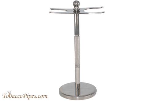 Parker Stainless Steel Safety Razor & Brush Shaving Stand