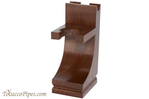 Parker Mission Style Wood Razor & Brush Shaving Stand