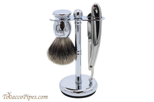 Parker SR1 Straight Razor Three Piece Shave Set