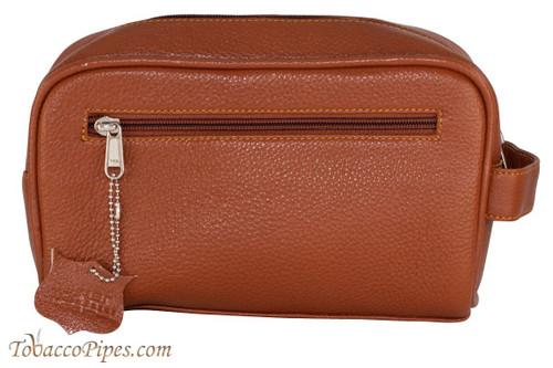Parker Saddle Brown Leather Dopp Kit