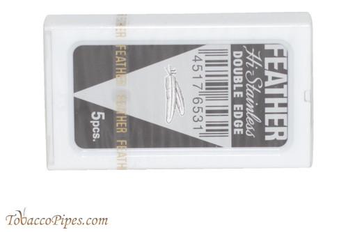 Feather Hi-Stainless Double Edge Razor Blades