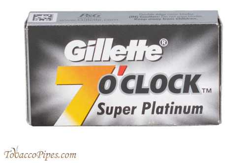 Gillette 7 O'Clock Super Platinum Double Edge Razor Blades