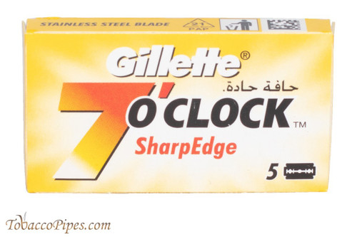 Gillette 7 O'Clock SharpEdge Double Edge Razor Blades