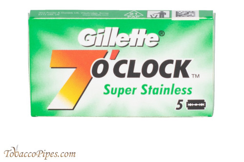 Gillette 7 O'Clock Super Stainless Double Edge Razor Blades