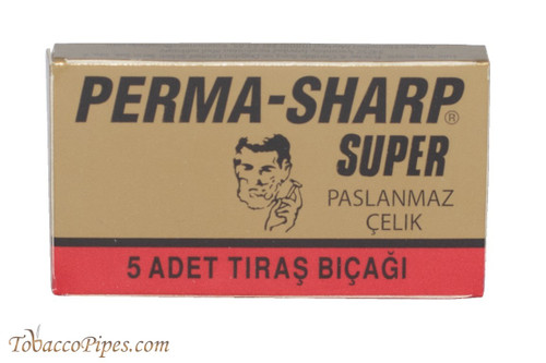 Perma-Sharp Super Double Edge Razor Blades
