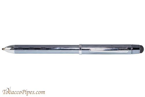 Cross Tech3 Frosty Steel Multifunction Black Pen