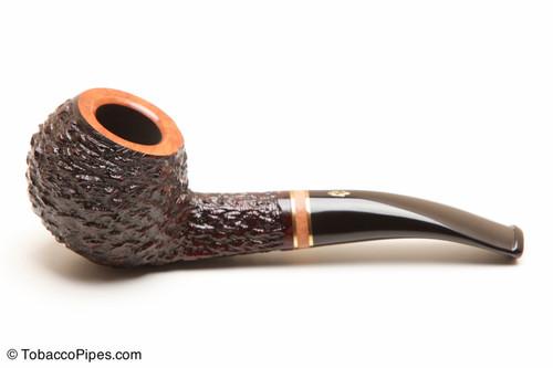 Savinelli Porto Cervo Rustic 673 KS Tobacco Pipe Left Side