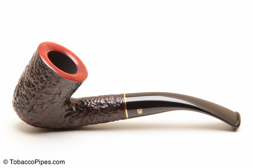 Savinelli Roma 611 KS Black Stem Tobacco Pipe Left Side