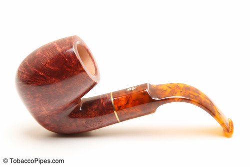Savinelli Tortuga Smooth 614 Tobacco Pipe Left Side