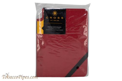 Cross Crimson Lined Journal