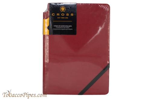 Cross Crimson Medium Lined Journal