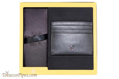 Cross Torero Leather Black Card Case Gift Box