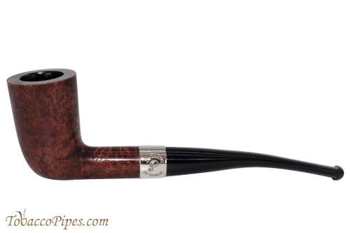 Peterson Aran 124 Nickel Band Tobacco Pipe Fishtail