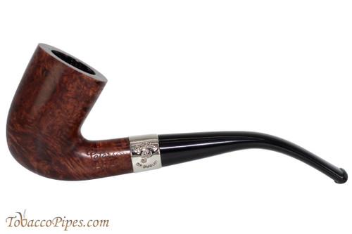 Peterson Aran 128 Nickel Band Tobacco Pipe Fishtail