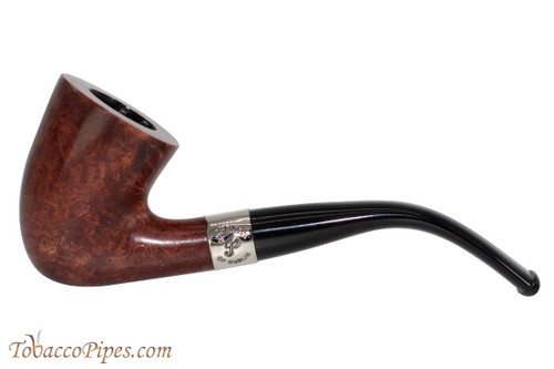 Peterson Aran 127 Nickel Band Tobacco Pipe Fishtail