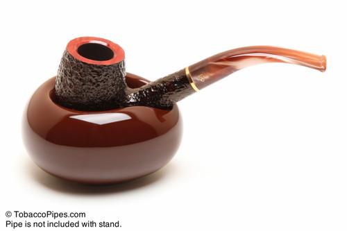 Savinelli Goccia 1 Pipe Ceramic Pipe Stand Brown