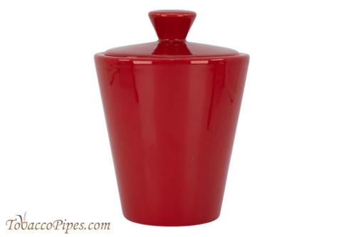 Savinelli Red Ceramic Tobacco Jar