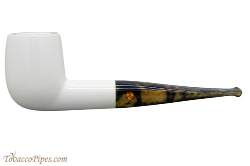 Rattray's White Goddess Smooth Tobacco Pipe 100-9830 Left