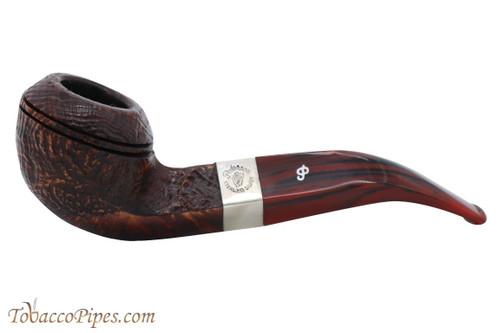 Peterson Irish Harp Sandblasted 80s Fishtail Tobacco Pipe