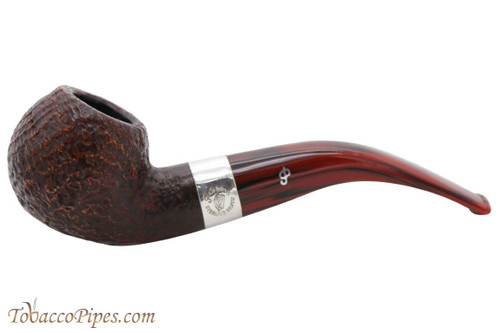 Peterson Irish Harp Sandblasted 03 Fishtail Tobacco Pipe