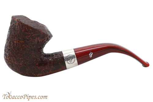 Peterson Irish Harp Sandblasted B10 Fishtail Tobacco Pipe