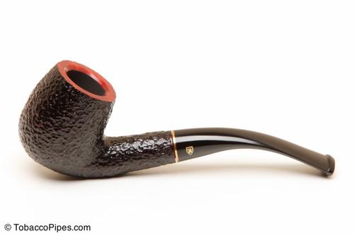 Savinelli Roma 601 Black Stem Tobacco Pipe Left Side