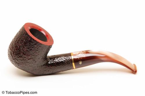 Savinelli Roma Rustic 622 KS Lucite Stem Tobacco Pipe Left Side