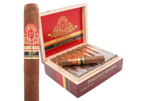 Perdomo 10th Anniversary Sun Grown Super Toro Cigar