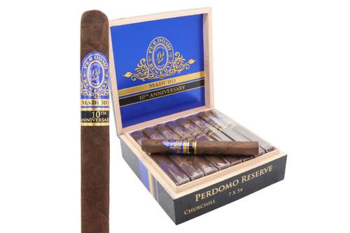 Perdomo 10th Anniversary Maduro Churchill Cigar