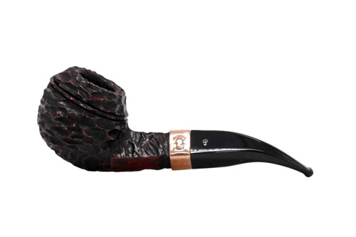 Peterson Christmas 2021 Sherlock Holmes Rusticated Squire Fishtail Tobacco Pipe