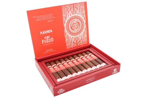 Plasencia Alma Del Fuego Candente Robusto Cigar Box