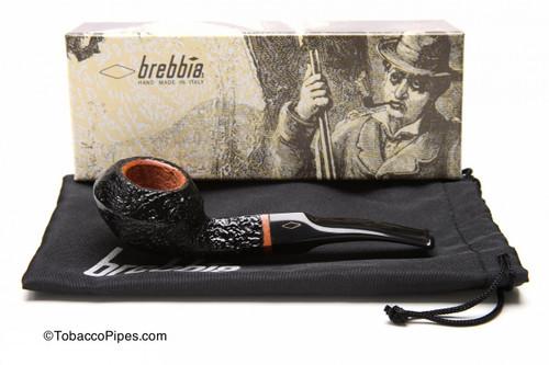 Brebbia 1960 Sabbiata Nera 623 Tobacco Pipe Kit