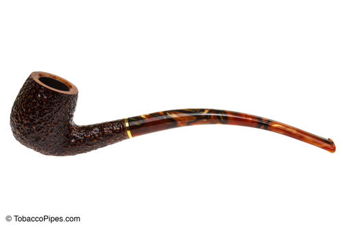 Savinelli Clarks Favorite Brownblast Tobacco Pipe Left Side