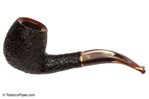 Savinelli Roma 677 KS Lucite Stem Tobacco Pipe Left Side