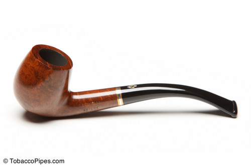 Savinelli Petite Brown 601 Tobacco Pipe Left Side