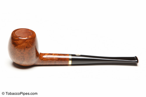 Savinelli Petite Brown 202 Tobacco Pipe Left Side