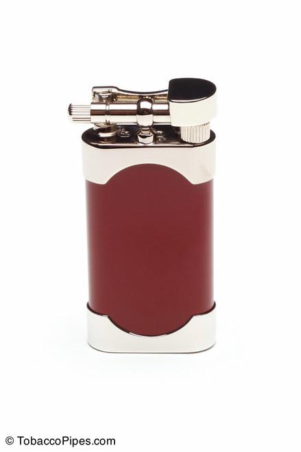 Kiribi Mikazuki Red Pipe Lighter Front
