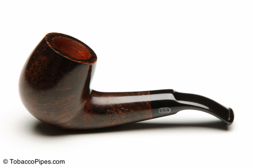 Chacom Reybert GE01 Walnut Smooth Tobacco Pipe Left Side