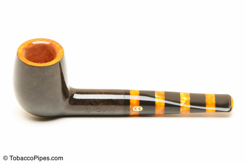 Chacom Maya 185 Smooth Tobacco Pipe Left Side