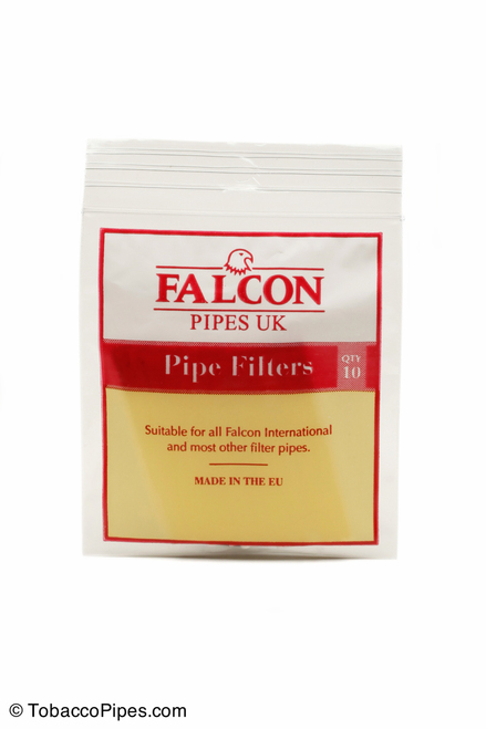 Falcon 10 Pack Tobacco Pipe Filters