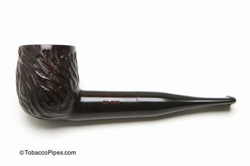 Dr Grabow Big Pipe Rustic Tobacco Pipe Left Side