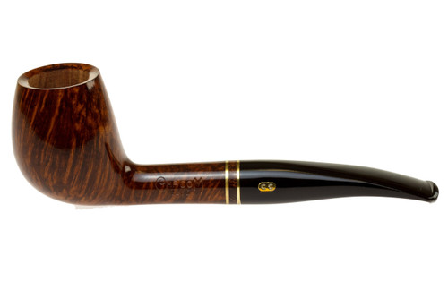 Chacom Club 861 Tobacco Pipe - Smooth Left Side