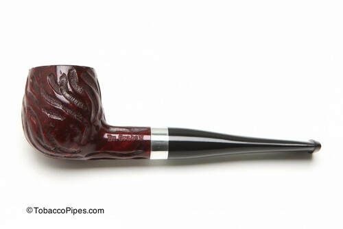 Dr Grabow Cardinal Rustic Tobacco Pipe Left Side
