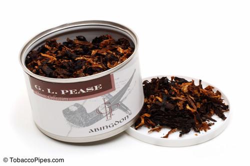 G. L. Pease Abingdon 2oz Pipe Tobacco Open