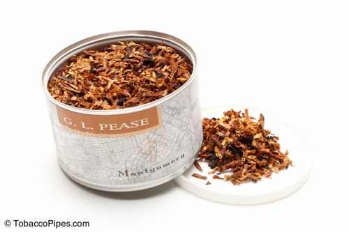 G. L. Pease Montgomery 2oz Pipe Tobacco Open
