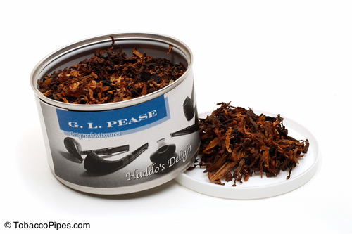 G. L. Pease Haddo's Delight 2oz Pipe Tobacco Open